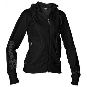 Reece encapuchonné sweater Pleine Fermeture femme noir Adulte  c4b0134cf7b