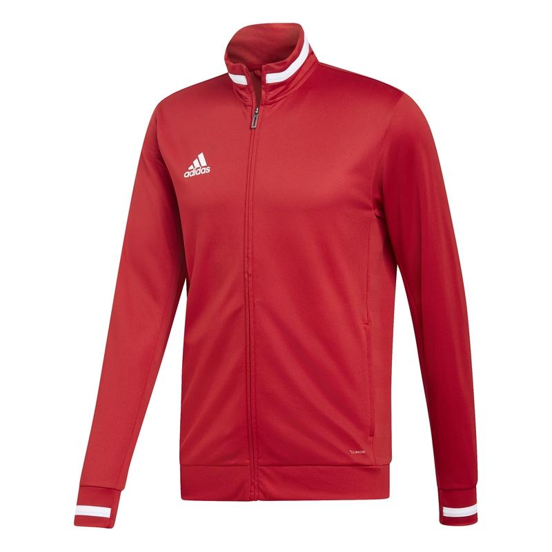 Adidas T19 Track veste survêtement homme rouge