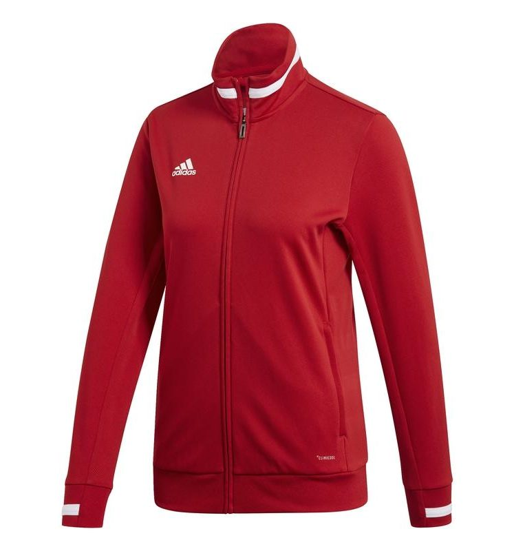 Adidas T19 Track veste survêtement femme rouge. Normal price: 54.95. Our saleprice: 45.95